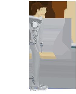 standing main character